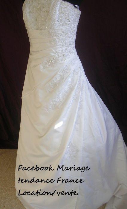 Robe de mariée Miss Kelly 2011/2012 d'occasion avec boléro, bijoux