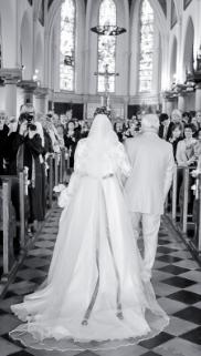 Voile Cathedral de mariée Caroline Castigliano - Occasion du Mariage