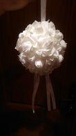 lot de 10 Boules de fleurs en mousse - Occasion du Mariage