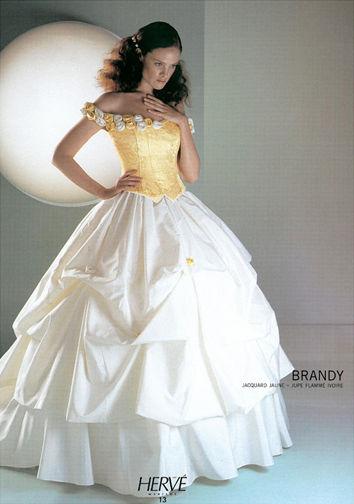 Robe de mariée Hervé Maraige modèle Brandy d'occasion collection 2012