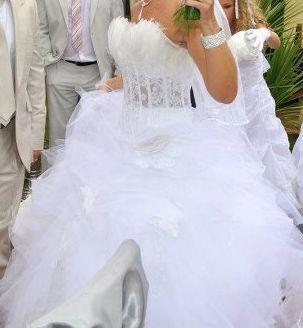 Robe de mariée Hervé Mariage pas cher 2012- Occasion du Mariage