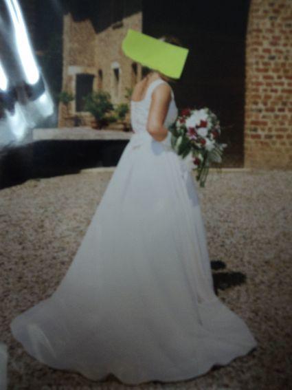 Robe de mariée Pronovias d'occasion du magasin Martine à Lyon