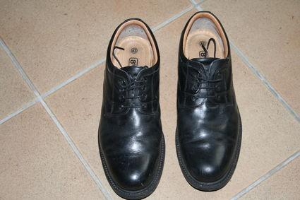 Chaussures de marié pointure 43