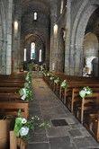 16 gros noeuds verts et gris mélangés - Occasion du Mariage