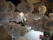 Lot de pompons en papier de soie en décoration de mariage pas cher en 2013