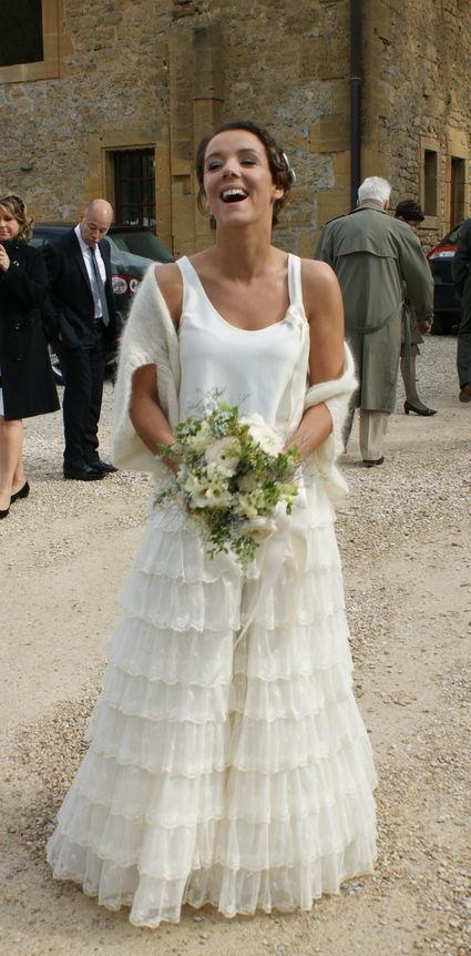 Robe de mariée Delphine Manivet modèle Angus sur mesure d'occasion