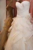 Robe de mariée LEDIA de PRONOVIAS avec accessoires - Occasion du Mariage