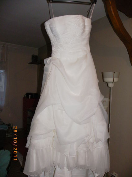 Robe de mariée de créateur Divina Sposa bustier + jupe  - Occasion du Mariage
