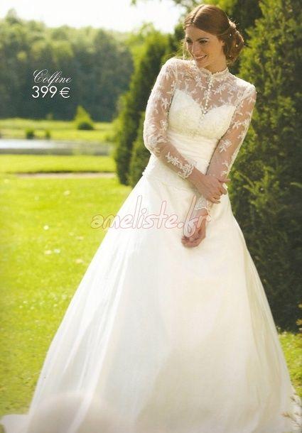 Robe de mariée Tati mariage colfine d'occasion en 2012