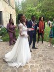 Robe couture Majestic Rosa Clara  - Occasion du Mariage