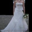 robe + jupon + gants + étole - Occasion du Mariage