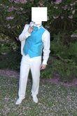Costume de marié + gilet + chaussures de mariage