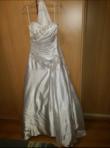 Robe blanche aspect satinée  - Occasion du Mariage