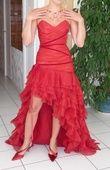 Robe mariée cymbeline modèle saline rouge - Occasion du Mariage