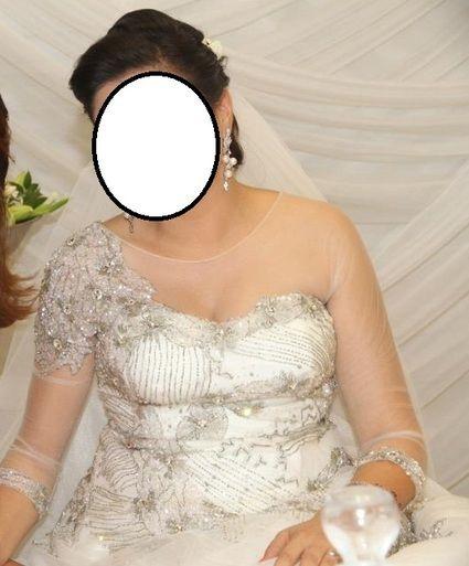 Robe de mariée haute couture d'occasion à Paris