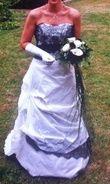 Robe de chez carrière et ses accessoires - Occasion du Mariage