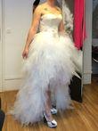 Robe de mariée Créateur Max Chaoul neuve - Occasion du Mariage
