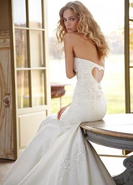 Robe de mariée blanche neuve sur mesure