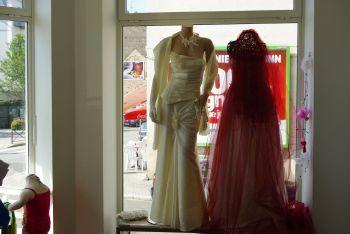 Robe de mariée pas cher couleur Vanille en Alsace 2012 - Occasion du mariage