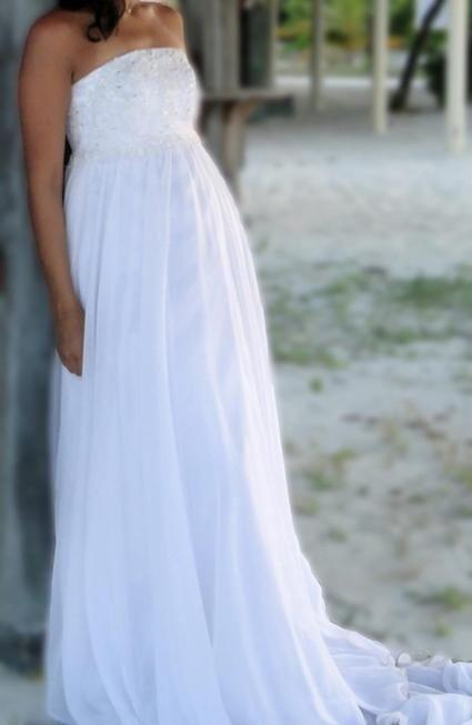 Robe de mariée unique Pronovias en Seine Saint Denis 2012  - Occasion du Mariage