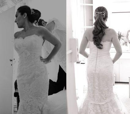 Robe de Mariée La Sposa –Collection Silueta – Modèle Danesa d'occasion