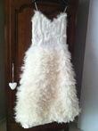 robe de mariée en plume unique T40 - Occasion du Mariage