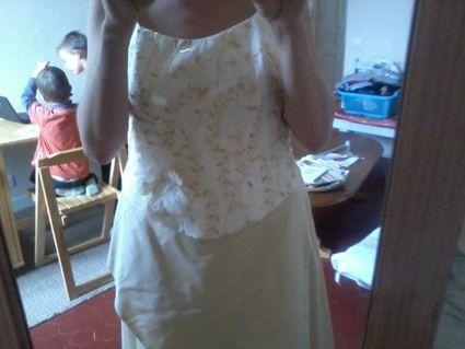 Robe de mariée neuve, Alexis Mariage, champagne/ivoire d'occasion