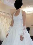 Robe de mariée avec accessoires de mariage pas cher en 2013