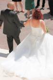 Robe de mariée ivoire type meringue - Occasion du Mariage