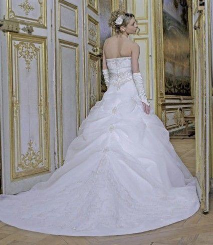 Robe de mariée d'occasion avec ses accessoires taille 36/38