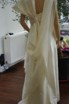 Robe de mariée pas cher PRONUPTIA et soie sauvage 2012- Occasion du mariage