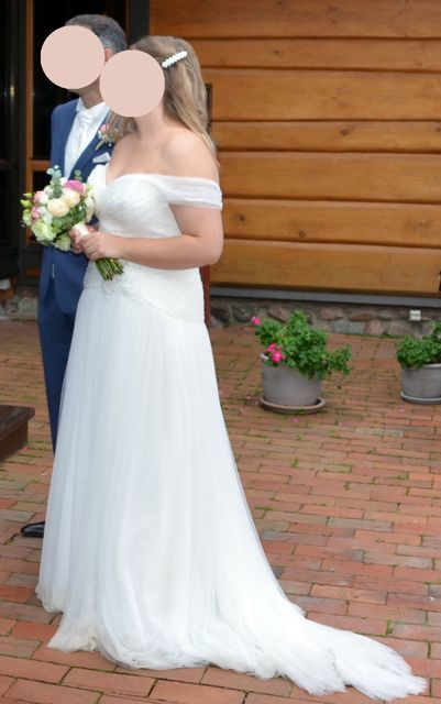 robe de mari e grande taille 48 marque la sposa essonne