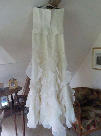 Robe de mariée bustier et jupe T40 - Dordogne