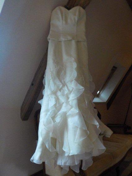 Robe de mariée bustier et jupe T40 occasion - Dordogne