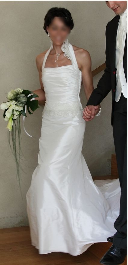 Robe-bustier de mariée Linea Raffaelli pas cher d'occasion 2012