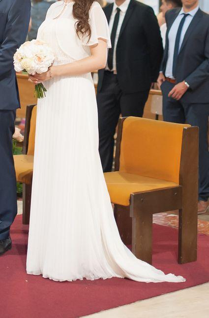 Robe de mariee boheme chic occasion