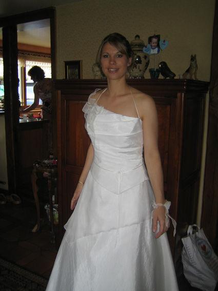 Robe de mariée bustier d'occasion et pas cher - Occasion du mariage