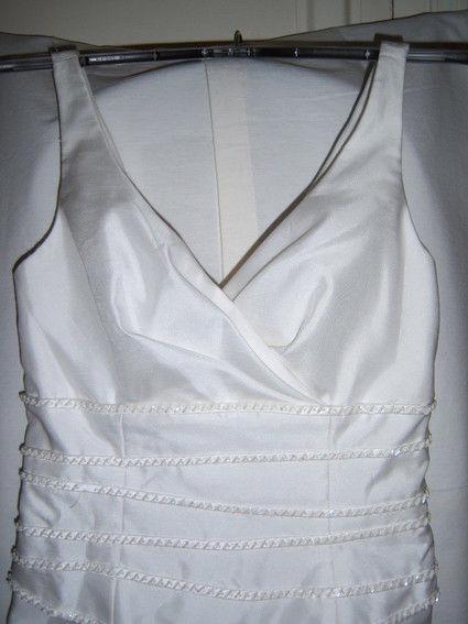 Robe de mariée blanche taille S en très bon état