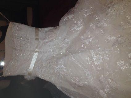 Robe de mariée Lys T38 d'occasion