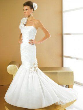 Robe de mariée d'occasion forme sirène avec jupon en tulle + bijoux de mariage