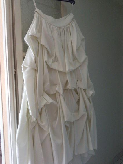 Robe de mariée de chez Point Mariage pas cher et accessoires d'occasion