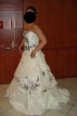 Robe de mariée Pronuptia modèle Mirage d'occasion couleur ivoire