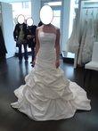 Robe de mariée Eglantine création, modèle CUBA T38