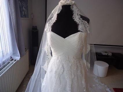 Magnifique Robe de mariée San Patrick d'occasion haut de gamme
