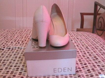 Chaussures de mariée blanches taille 39 Eden Shoes