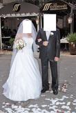 Jolie robe de mariée T40-42 + jupon + gants
