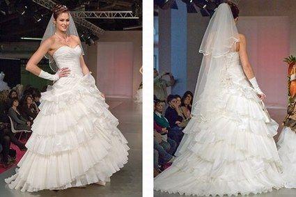 Robe de mariée Ciguelle de chez Tati mariage pas cher