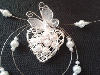 Bijoux/Collier perles idéal à l'occasion de votre mariage
