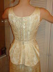 Robe de mariée T38 simple et chic couleur champagne