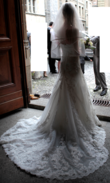 Robe de mariée, coupe sirène Glamourissime silhouette sirène
